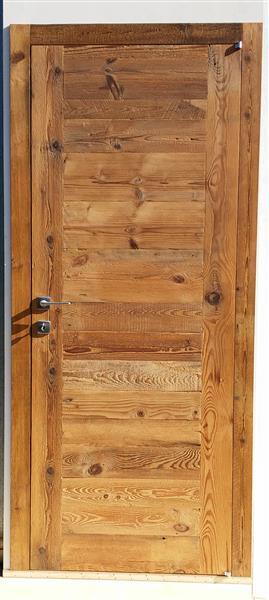 Porta in legno di recupero - Porte grezze da verniciare ...